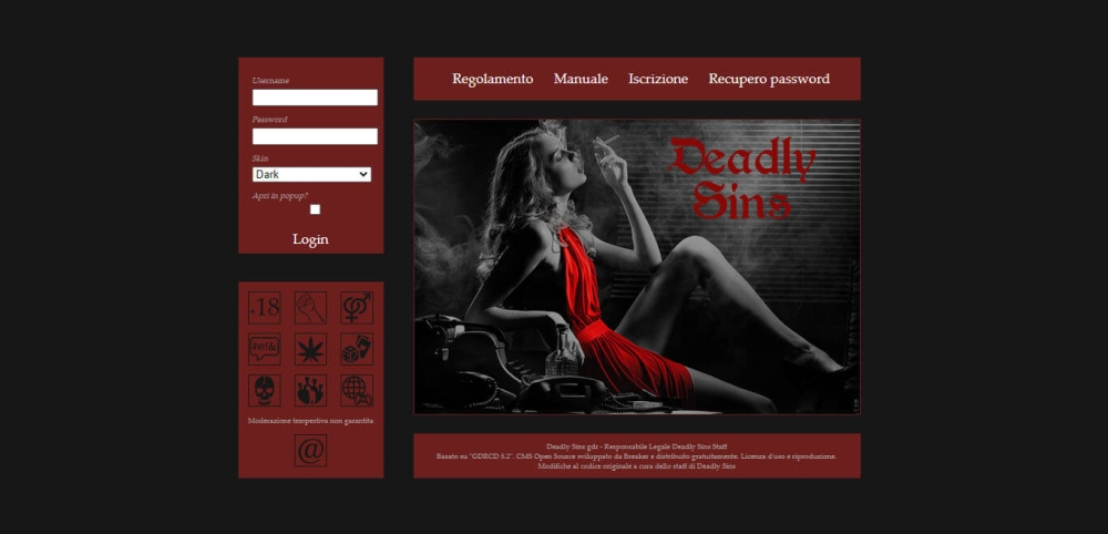 Deadly Sins Gdr Home Page