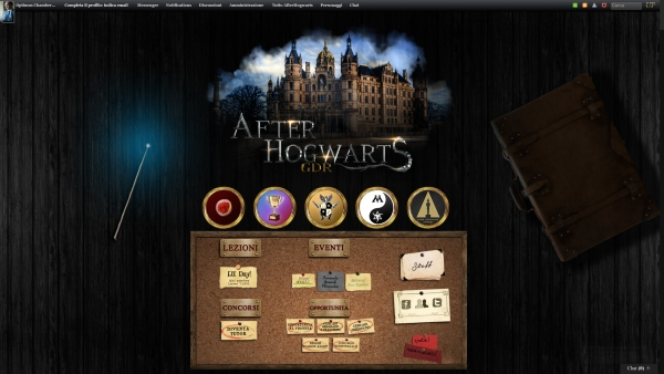 After Hogwarts - Home Page
