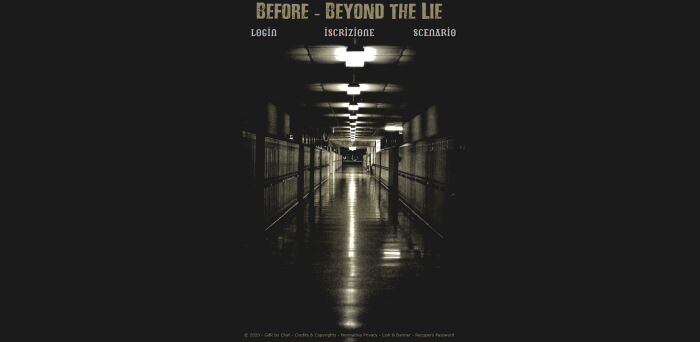 Before Beyond the Lie - Home Page