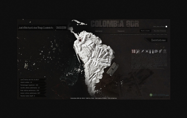 Colombia GDR - Home Page