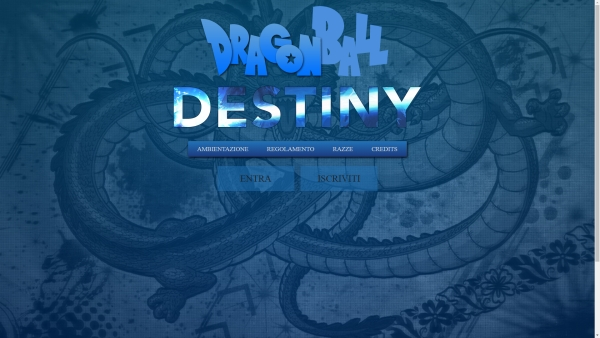 Dragonball Destiny Home Page