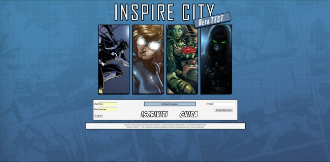Inspire City GDR - Home Page
