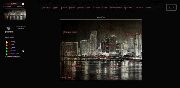 The Darkside of Miami - Mappa