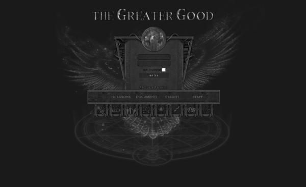 The Greater Good - Home Page