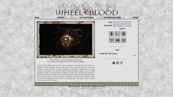 Wheel of Blood - Home Page