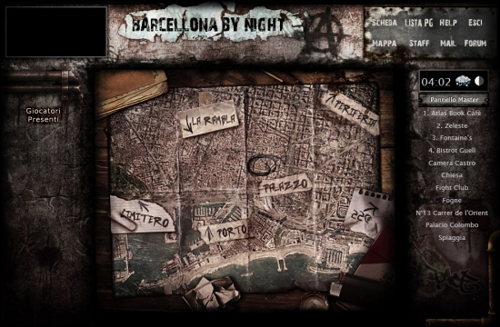 Barcellona by Night Mappa