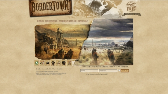 Bordertown - Home Page