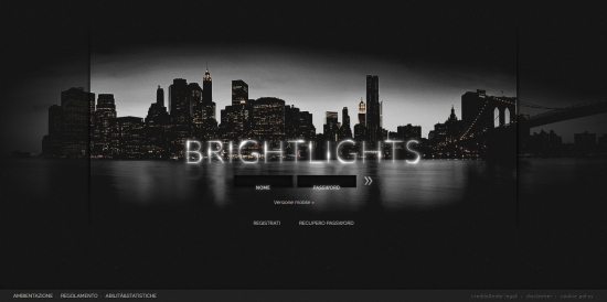 Bright Lights - Home Page