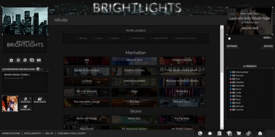 Bright Lights - Attivit�