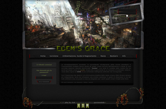 Eden's Grace Home Page