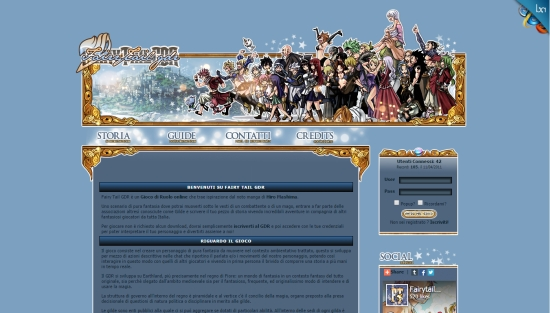 Fairy Tail GDR - Home Page