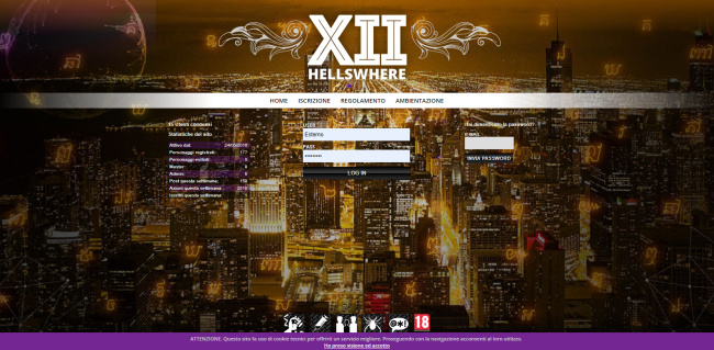 Hellswhere XII - Home Page