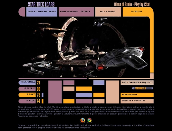 Star Trek LCARS Home Page