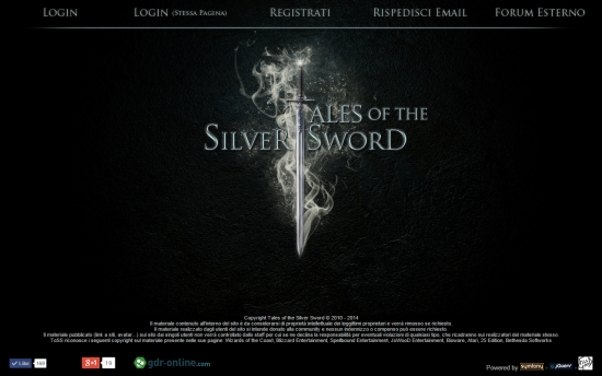 Tales of the Silver Sword Home Page