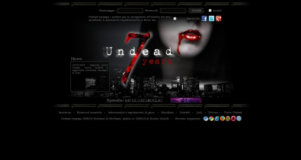 Undead - Home Page