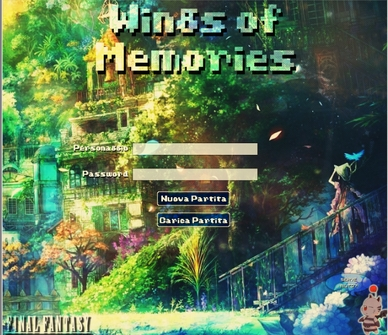 Wings of Memories - Login