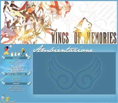 Wings of Memories - Home Page