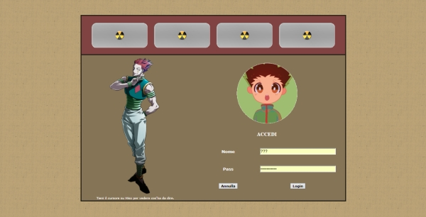 Eternal Dream: Hunter X Hunter Story - Home Page