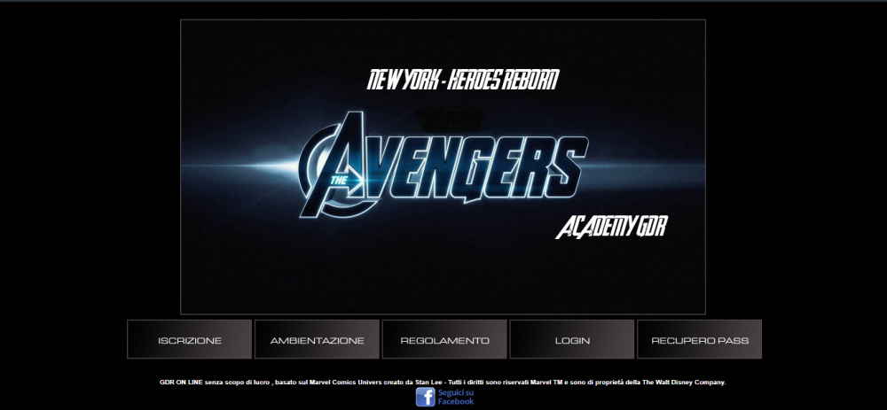 New York Heroes Reborn - Avengers Academy - Home Page
