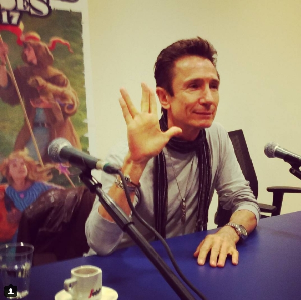 Lucca Comics and Games 2018 Dominic Keating