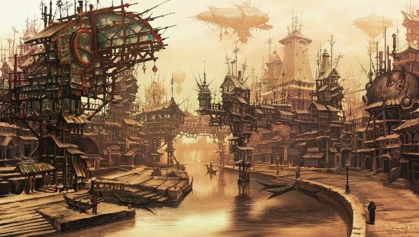 Narrativa Steampunk