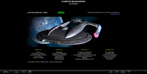 Starfleet Headquarters - USS Explorer