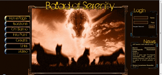 Ballad of Serenity - Home Page