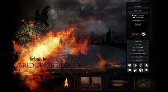Bridge of Blood Home Page
