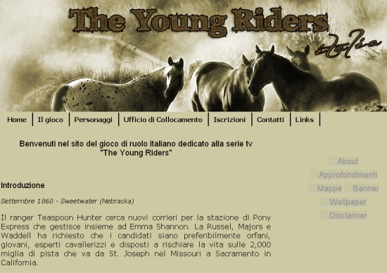 The Young Riders Italia Sito Web