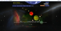 Astro Galaxy - Screenshot Browser Game