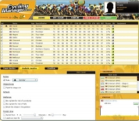 Cycling Manager Online - Screenshot Browser Game