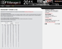 F1 Manager Game - Screenshot Sport