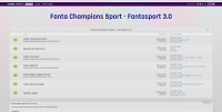 Fanta Champions Sport - Screenshot Play by Forum