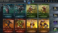 Fantasy Rivals - Screenshot Browser Game