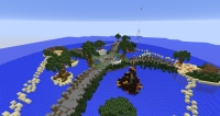 GravityIsland - Screenshot Minecraft