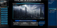 Lies of Concilium - Screenshot Fantascienza