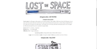 Lost in Space - Screenshot Browser Game
