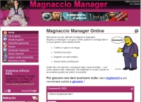 Magnaccio Manager - Screenshot Browser Game