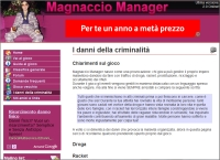 Magnaccio Manager - Screenshot Crime