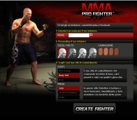 MMA Pro Fighter - Screenshot Social Game