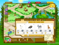 MondoZooPark - Screenshot Browser Game