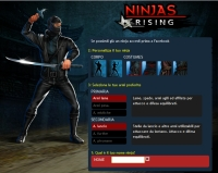 Ninja Rising - Screenshot Social Game