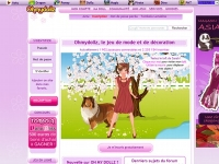 OhMyDollz - Screenshot Browser Game