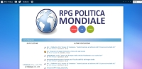 RPG Politica - Screenshot Play by Forum
