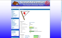 ScoutAdventure - Screenshot Browser Game