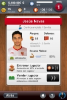 Sevilla Fantasy Manager - Screenshot Play by Mobile