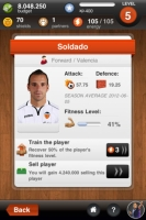 Valencia Fantasy Manager - Screenshot Play by Mobile