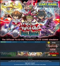 Yu-Gi-Oh! Duel Arena - Screenshot Browser Game