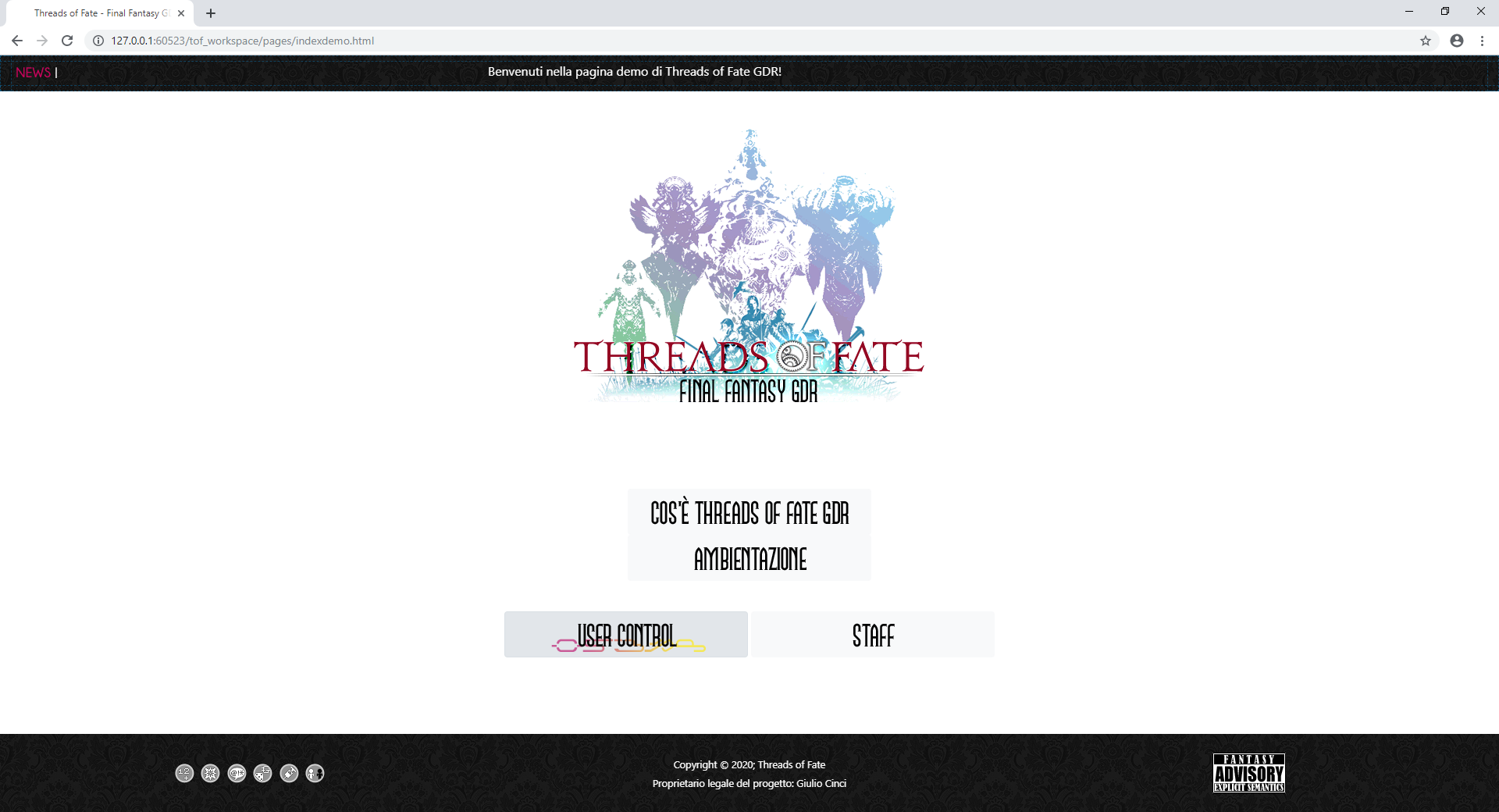 Threads of Fate GDR