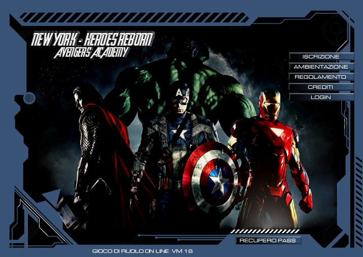 New York Heroes Reborn - Avengers Academy